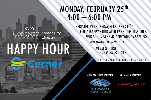 Kansas City Chapter Happy Hour at Cerner - CoreNet Global